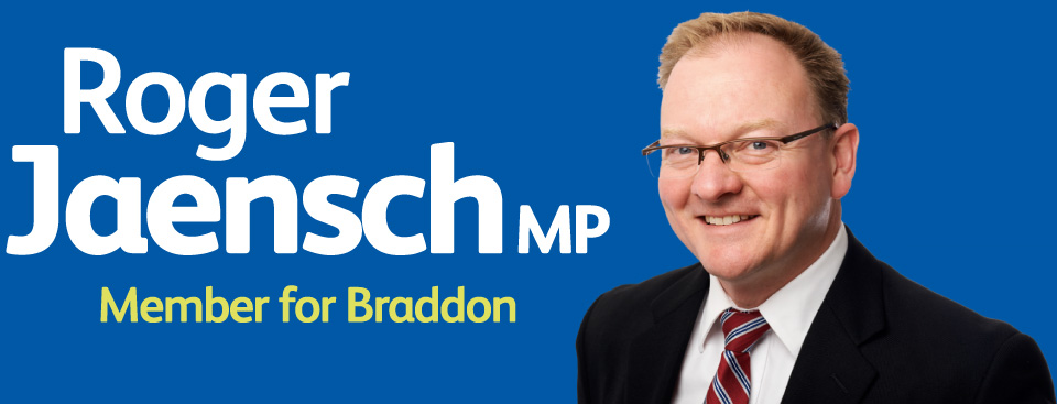 Roger Jaensch MP Memeber for Braddon